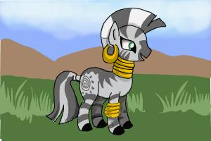 How to Draw Zecora from My Little Pony Friendship Is Magic