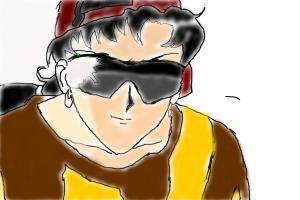 How to Draw Seiya Kou With Glass
