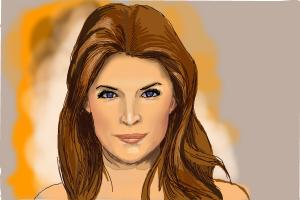 How to draw Anna Kendrick