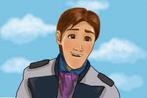 How to Draw Hans from Frozen