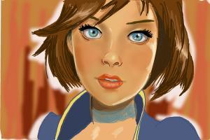 How to Draw Elizabeth from Bioshock