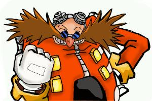 How to draw Doctor Eggman from Sonic