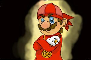 How to Draw a Gangster Mario