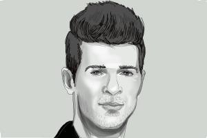 How to Draw Robin Thicke