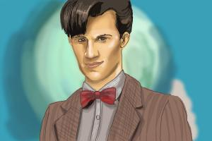How to Draw Eleventh Doctor from Doctor Who
