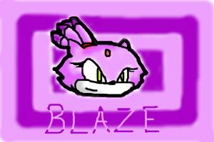 How to Draw Blaze The Cat