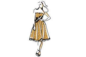 Barbie A Fashion Fairytale Dresses Sketches How to Draw Barbie Dre...