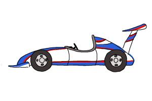 How To Draw A Race Car Drawingnow