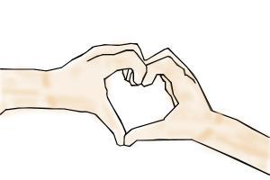 ≪3Heart Hands≪3