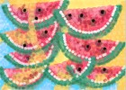 How to Draw Watermelons