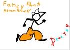 how to draw fancy pants man