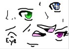 How to Draw Anime Facial Features- Eyes, Noses, Mo