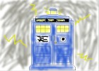 How to Draw The Tardis from Doctor Who.