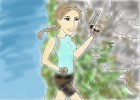 How to Draw Laura Croft
