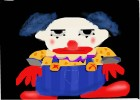 How to Draw Chuckles The Clown from Toy Story 3