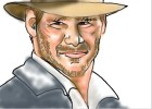 How to Draw Indiana Jones