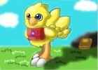 How to draw chocobo chicken from final fantasy