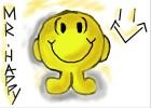 How to Draw Mr. Happy