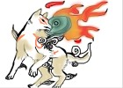 How to draw Okami Amaterasu