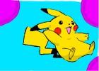 How to draw Pikachu !