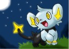 How to draw a happy pokemon: Shinx