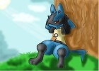 How to draw pokemon: Lucario