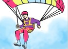 How to Draw a Paraglider