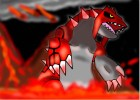 How to draw Groudon in magma