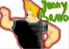 how to draw Jonny Bravo