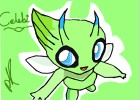 How to draw Celebi