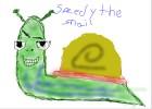 How to Draw Speedy The Snail