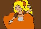How to draw princess Dianna