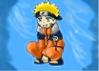 How to draw kid Naruto