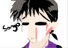 How to Draw Miroku from Inuyasha
