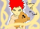 How to draw Gaara of the sand from Naruto