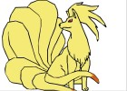 How to Draw Ninetales
