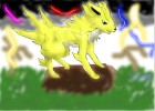 How to draw Jolteon-E