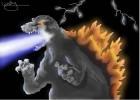 How to draw Godzilla 1995