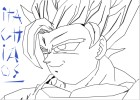 How to draw: Goku Super Saiyan 2