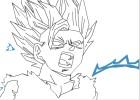 How to Draw: Teen Gohan Super Saiyan 2