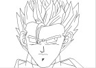 How to draw: Gohan Super Saiyan 2