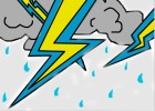 how to draw cartoon lightning
