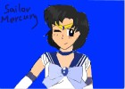 How to Draw Sailor Mercury from Sailor Moon