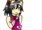 How to Draw Shy Neko Girl
