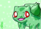How to draw Bulbasaur (Chibi)