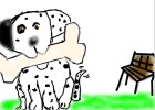 How to Drawa Cartoon Dalmatian