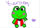 how to draw Keroppi :)