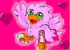 How to Draw a Cute Pink Chocobo