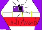 How to Draw Red Carpet Closup Camera