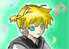 How to draw Kagamine Len
